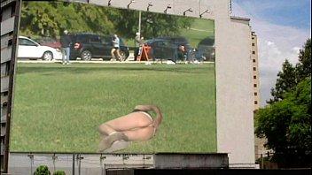bare outdoor billboard rump demonstrate 1 by mark heffron