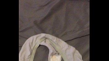 nutting in gf messy undies
