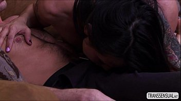 bigtits transsexual foxxy inhales and romps man rodericks.