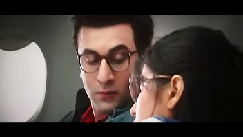 katrina kaif smooch in jagga jasoos - ranbir.