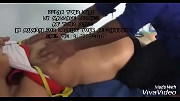 wifey get rubdown by me while cheating spouse films