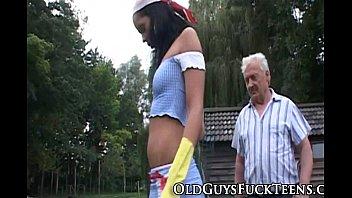 nubile elderly dude jizz gulp