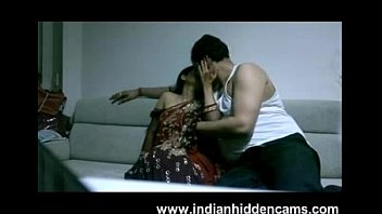 mature indian duo in lounge after soiree seducing.