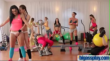 adorable gym damsels and tutor 3someangel wickyamp_emily clarkamp_erica.