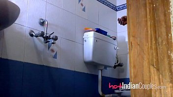 bathroom fuck-a-thon warm indian duo shilpa.