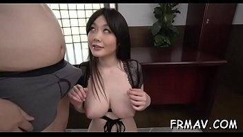 oriental beauty receives deep thrashing for her furry vagina