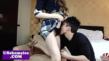 japanese transgender princess cumdrops while buttfucked