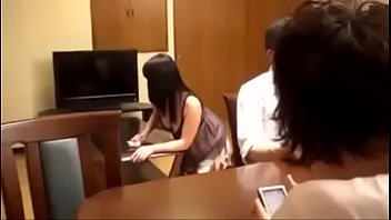 japanese chinese mother enjoys to rip up with son-in-law