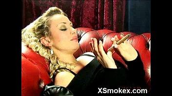 spectacular dame smoking supah-naughty pornography