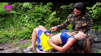 army guy romance village chick