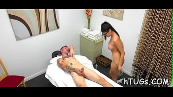 best masseuse ever takes gusto in fondling a customer