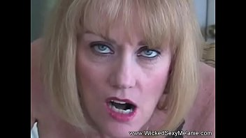 cougar melanie rock hard-on deep-hatch blowage
